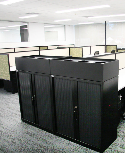 Tambour Storage Cabinets