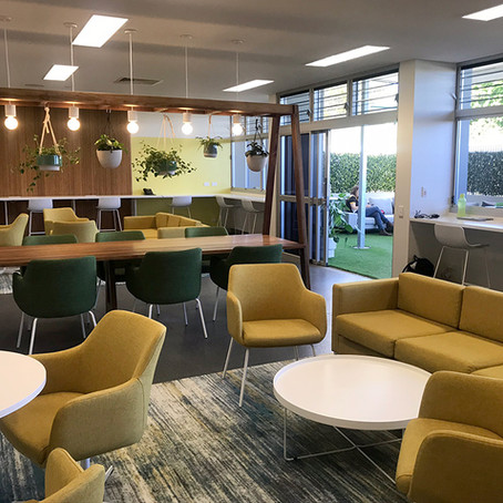 college staff collaboration space