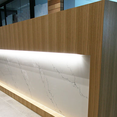 Custom Reception Joinery