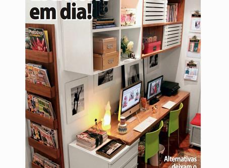 Organização de Home-Office na Revista Casa Linda