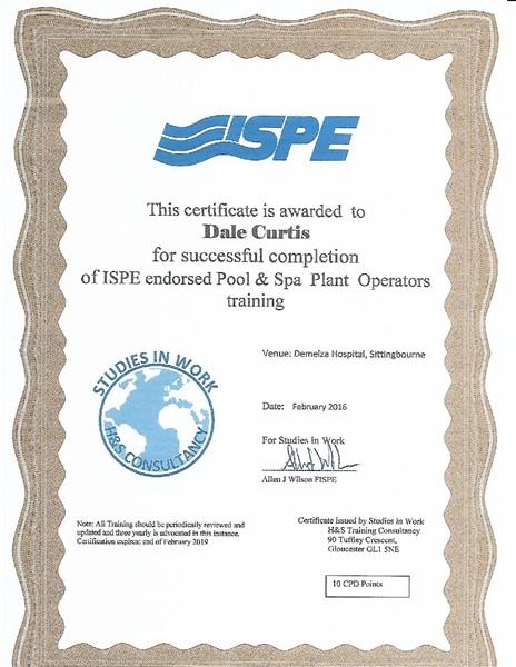 ISPE Pool & Spa Plant 2016
