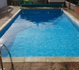 Swimming Pool water - crystal clear