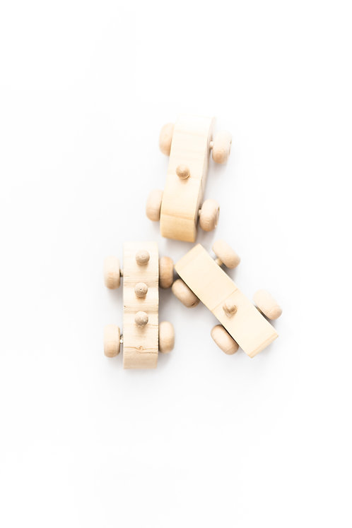 Wooden Cars (set of 3)