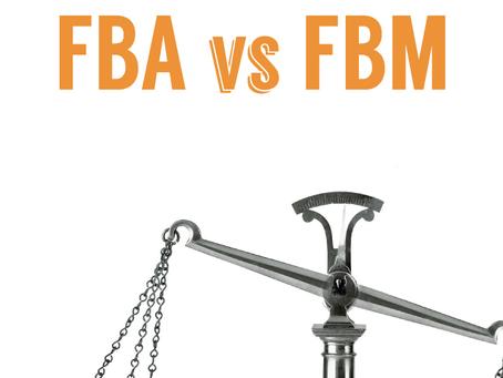 FBA(亚马逊自营)vs. FBM(商家自营)