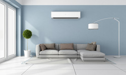 HVAC Air Conditioner in Living Room