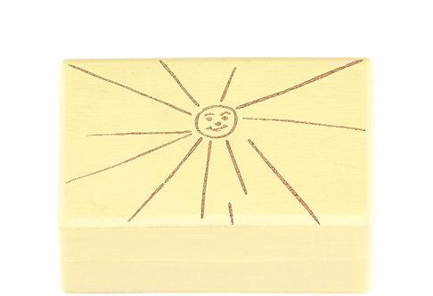 """KEEPSAKES BOX yellow """"Sun"""""""