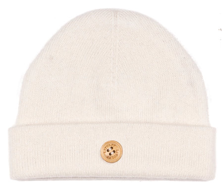 "CASHMERE HAT color ""off white"""