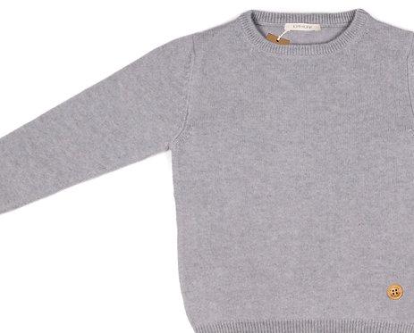 """CASHMERE JUMPER color """"grey"""""""