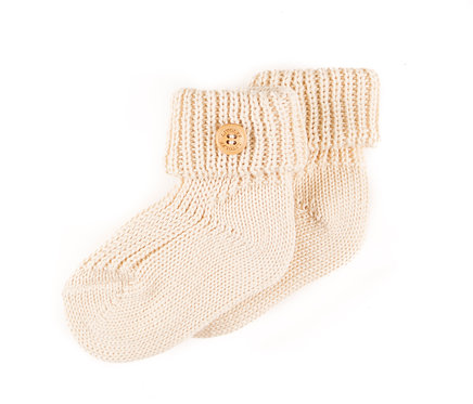 "SOCKS color ""beige"""