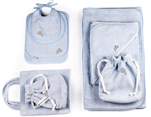 "GIFT SET  9 pcs ""light blue"""