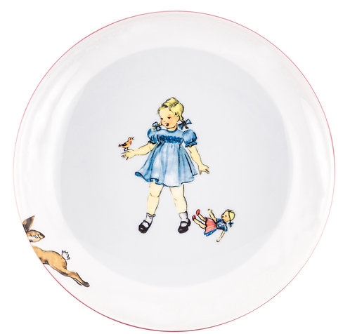 """LM-2-PLATE """"Girl"""""""