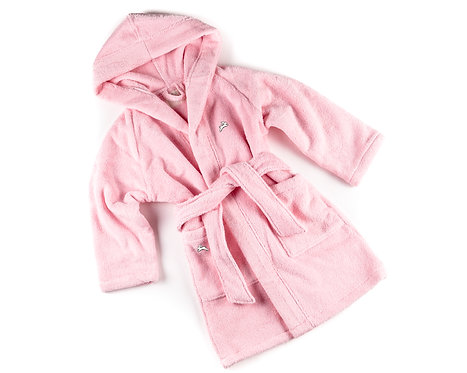 "BATHROBE  ""rose"""