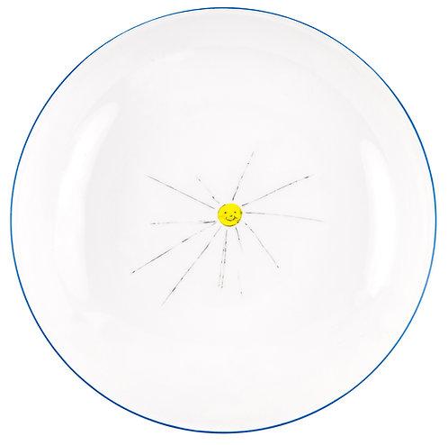 "LM-2-DINNER PLATE ""Sun"""