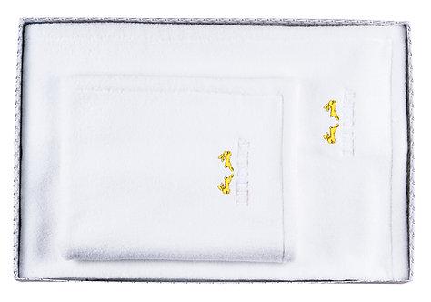 """BOX 10-XL-B  """"white-yellow"""""""