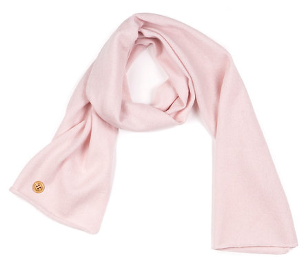 "CASHMERE SCARF color ""rose"""