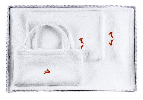 "BOX 12-XL-B ""white-red"""