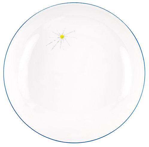 "LM-1-DINNER PLATE ""Sun"""