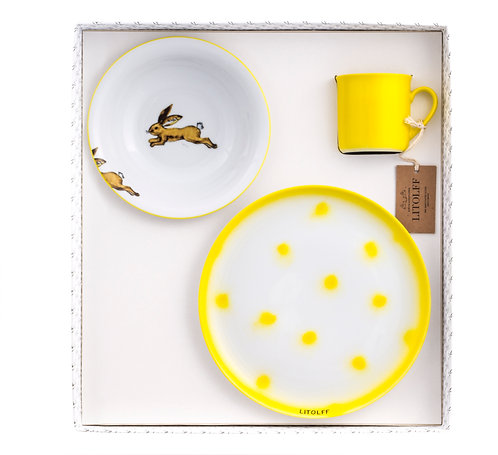 """DOTS 1-L-T """"Hare"""" yellow"""