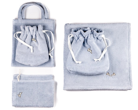 "GIFT SET  6 pcs ""light blue"""
