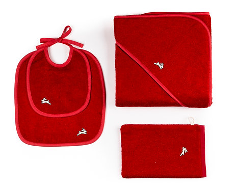 "GIFT  SET  4 pcs ""red"""