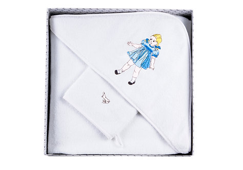 "BOX GIRL 1-L-B 100x100 cm ""white"""