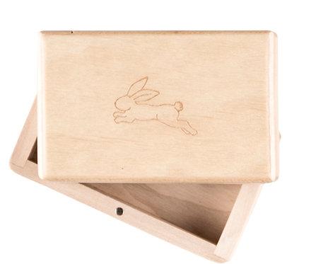 "KEEPSAKES BOX off white ""Hare"""
