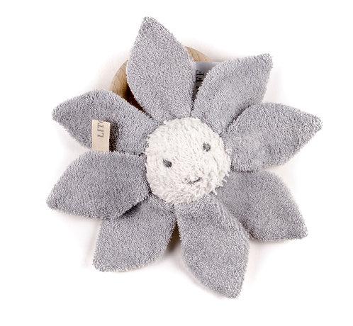 "RATTLE FLOWER ""grey"""