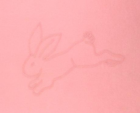 "CASHMERE BLANKET 2 ply  ""rose punto cavallo"""