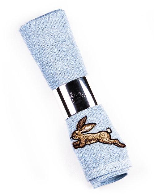 """NAPKIN 100% Linen """"Hare"""""""