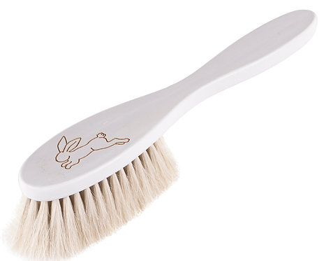 "HAIRBRUSH BABY white ""Hare"""