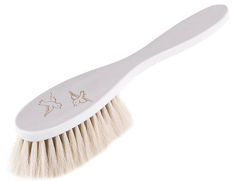 "HAIRBRUSH BABY white ""Bird"""