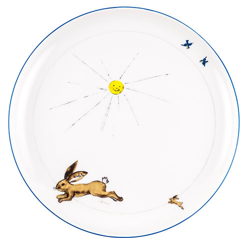 """PLATE """"Hare"""""""