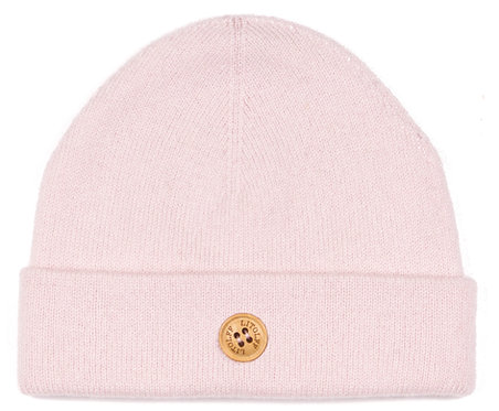 "CASHMERE HAT color ""rose"""