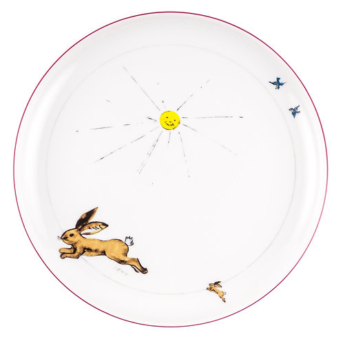 "PLATE ""Hare"""