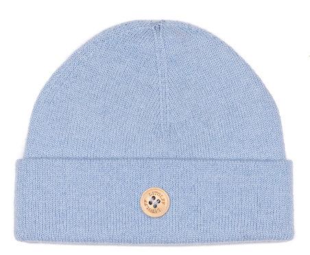 """CASHMERE HAT color """"blue"""""""