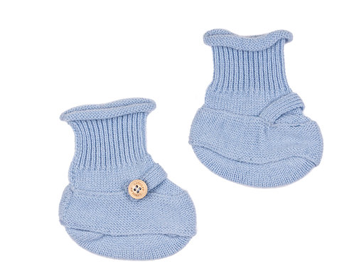 "CASHMERE SOCKS color ""blue"""