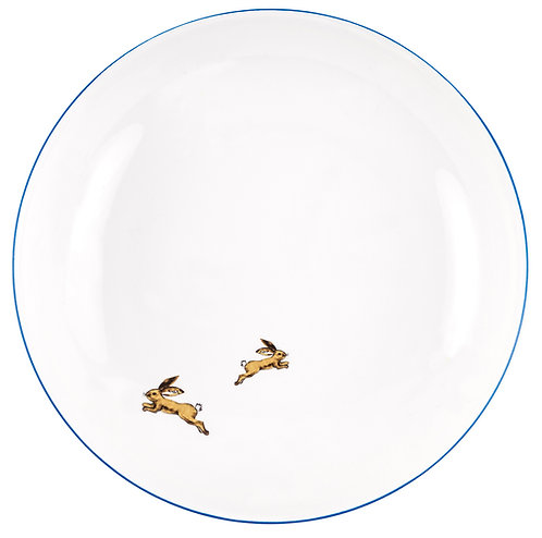 """LM-2-DINNER PLATE """"Hare"""""""