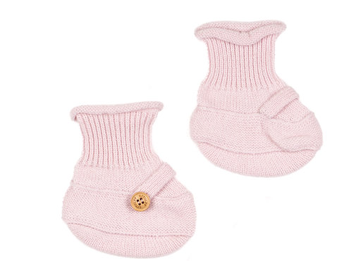"CASHMERE SOCKS color ""rose"""