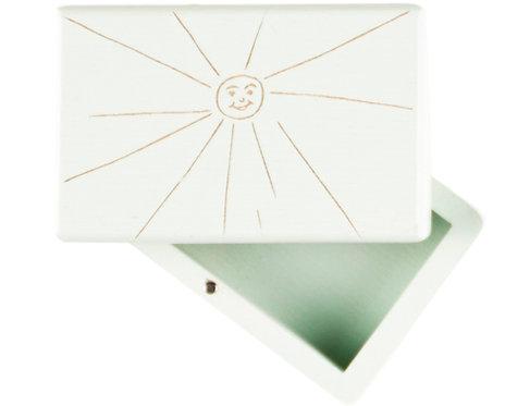 """KEEPSAKES BOX green """"Sun"""""""