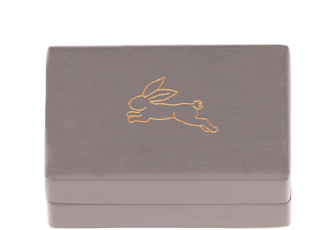 """KEEPSAKES BOX grey """"Hare"""""""