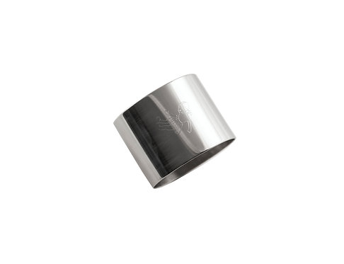 "NAPKIN RING  ""Doll"" stainless steel"