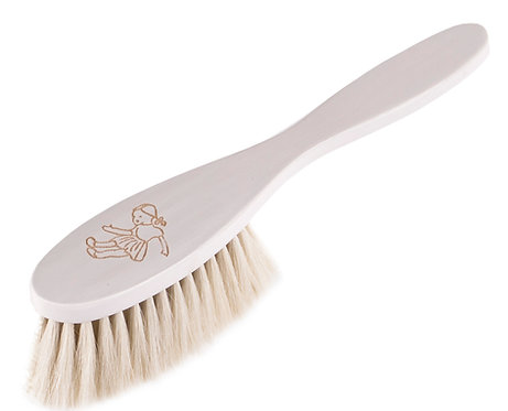 "HAIRBRUSH BABY white ""Doll"""