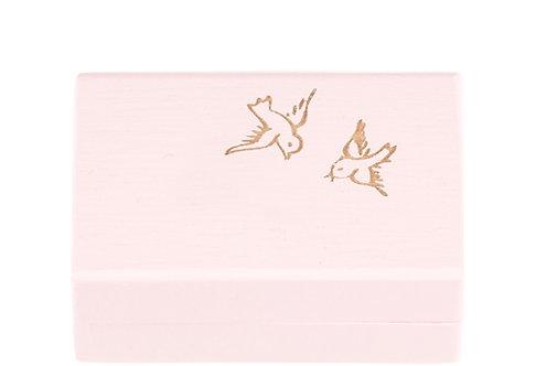 "KEEPSAKES BOX rose ""Bird"""