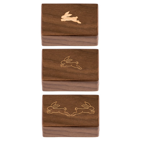 "Gift set 3 pcs KEEPSAKES BOX ""Hare"""