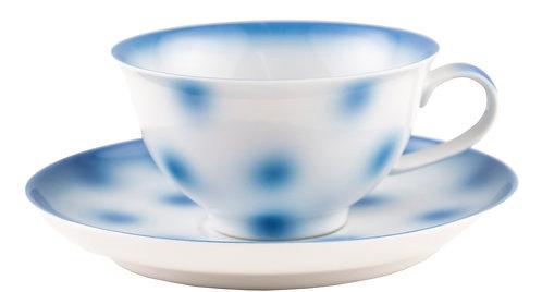 """TEA CUP """"dots"""