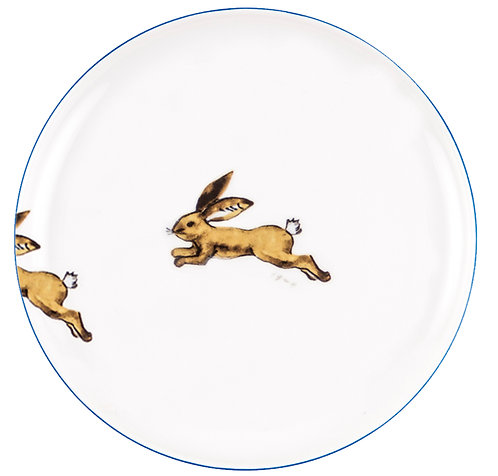 "PLATE ""NEW Hare"""