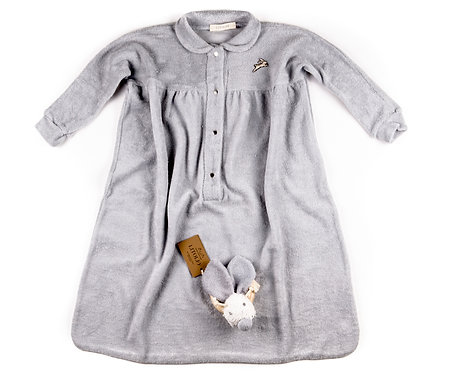 "SLEEPING BAG & TOY ""grey"""