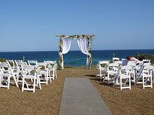 wedding ceremony - archway