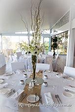 wedding reception - white - tall vase