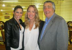 Elliott, Jeanie Buss & Crew